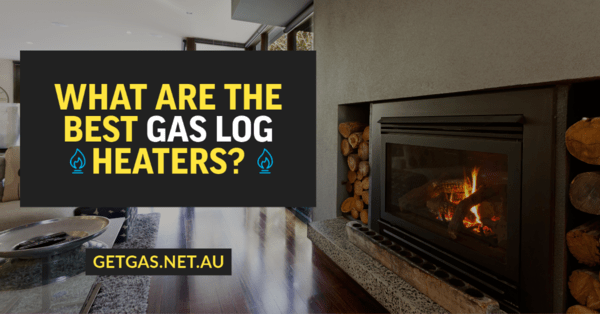 gas log heater